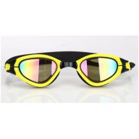 Interchangeable Nose Piece Adult Swim Goggles With Soft / Durable Silicone Gasket Manufactures