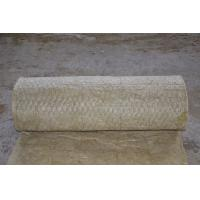 China Fireproof Rockwool Insulation Blanket With Wire Mesh Custom on sale