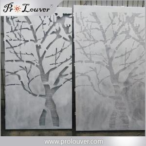 Tree image perforated aluminum panel,Custom manufactured perforatedl panel