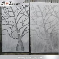 Quality Tree image perforated aluminum panel,Custom manufactured perforatedl panel for sale