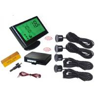 Wireless LCD Display Vision Parking Sensors With 4 Sensors Bi voice Function Manufactures