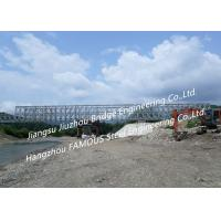 China Hot-dip Galvanized Or Painted Corrosion Protection Portable Steel Bridge And Manufacture In China on sale