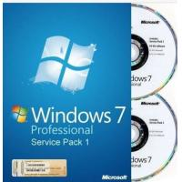 microsoft windows 7 professional 32 bit full version DVD with 1 SATA Cable Manufactures
