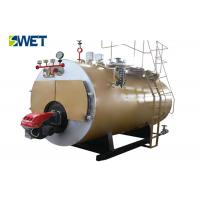 10 Ton Energy Efficient Industrial Gas Fired Steam Boilers20 ℃ Feed Water Temperature Manufactures