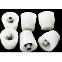 Flexible White Silicone Rubber Stoppers One Hole Texture Surface Finishing Manufactures