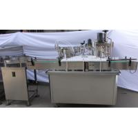 Turntable Syrup Filling Capping Machine Manufactures