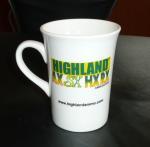 International certification SGS/CE 8109 ceramic mug custom LOGO coffee mark cup bone china mug sublimation white mug Manufactures