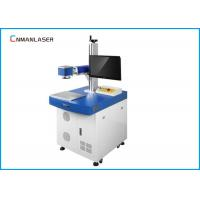 Quality Desktop 20W 0.5mm Depth Co2 Laser Marking Machine System For Animal Tag Nonmetal for sale