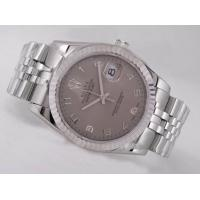Rolex Watch Rolex Datejust Swiss ETA 2836 Movement Gray rolex watch on sale cheap rolex Manufactures