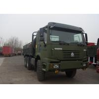 6x6 Driving Type Heavy Cargo Truck 290HP WD615.62 Engine Army Supply Truck Manufactures