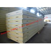 Customized Heat Insulation Cost Saving Insulated PU Sandwich Panels For Wall Systems for sale