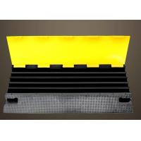Buy cheap PVC Cover Rubber Road Hump Protecters For 5 Cable Protection from wholesalers