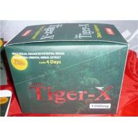 Brand New Products Tiger-x Sex Pills Male Enhancement With 24capsules Manufactures