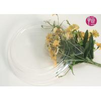 32oz Transparent PET Salad Bowl Lid With A Ear In Round Shape Manufactures