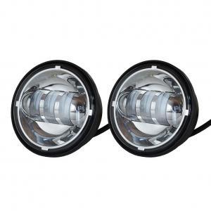 70w Cree Car LED Fog Lights Long Life Waterproof IP68 Round Led Fog Lights Manufactures