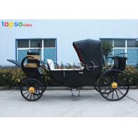 Quality Small Lightweight Cinderella Horse Carriage 4 Passengers Led Decorative Light for sale