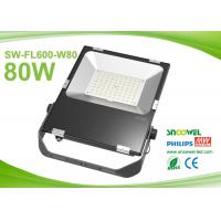 80w Outdoor Led FloodLight Fixtures  3030 SMD Meanwell Driver Manufactures