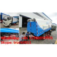 2019s new cheapest price CLW Brand road sweeping vehicle for sale, hot sale! good price new mini road cleaning truck Manufactures