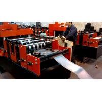 Buy cheap Hot Dip Galvanized C & Z Purlin Cold Bending Equipment Siemens PLC Automatic Control Speed Adjust by Danfoss VFD from wholesalers
