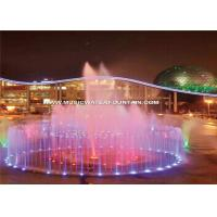 Trade Assurance Floor Water Fountains With Led Light For Park Interaction Manufactures
