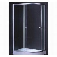 China Curved 1200mm Fiberglass Shower Enclosure on sale