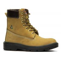 Quality Protective Industrial Work Boots , Comfortable Steel Toe Shoes Insole Material EVA for sale