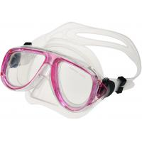 Comfortable Pink Kids Scuba Mask , Childrens Snorkel Mask Easy Breath Manufactures