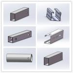 Hot Dip Galvanized Steel Profile Cold Bend Solar Mount Brace Support Framing Manufactures