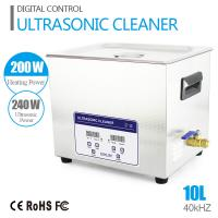 China 10L 240W JP - 040S SUS Ultra Sonic Cleaner With Digital Timer / Heater on sale