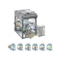Fully Automatic Stretch Hood Wrapping Machines Top Down Cold Stretching Manufactures