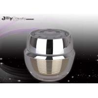 Lining Stripes 61mm Empty Beauty Containers 30ml For Cream Manufactures