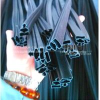flexible PVC extrusion seal with strong magnetic strips