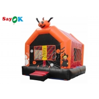 China PVC Tarpaulin Halloween Pumpkin Inflatable Jumping Castle Bounce House on sale