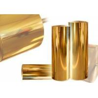 Christmas Gify Plastic Wrapping Foils Plastic Foil Packaging 640Mm Gold Stamping Manufactures