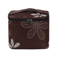 China Waterproof Embroidered Cooler Tote Bags with Zipper Design / Insulated Lunch Tote Bag on sale