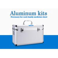 China Avoid Displacement First Aid Kit Box Movable Partition Boards Inside Equipped With Lock on sale