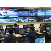 9 Screen Video Wall Display Systems / Remote Control Room Displays Manufactures