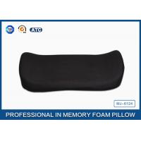 Visco Elastic Memory Foam Back Support Cushion , Lumbar Pillow With Zippered Cover Manufactures