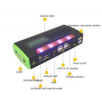 Chinese factory jump starter power bank with LED light Manufactures