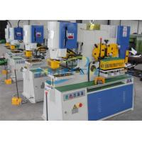 60 Ton Hydraulic Ironworker Machine , Industrial Ironworker For Sheet Metal Manufactures
