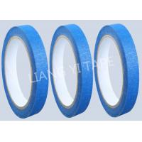 Blue Heat Resistance Paper Masking Tape For Masking Surface During Painting Manufactures