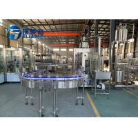 PET Bottle Washing Filling Capping Machine Advanced Production Juice / Tea Manufactures