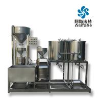 Buy cheap Industrial Food processing line soymilk tofu production line Fully automatic from wholesalers