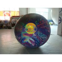 Reusable durable Big PVC helium balloon with total digital printing for advertising