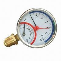 Pressure gauge with steel and bezel case Manufactures