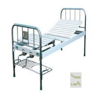 China High Quality Normal Simple Metal Manual Hospital Bed With Crank Steel Bed CE ISO Approved on sale