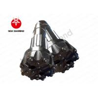 ND65 Rock / Air Hammer Drill Bits , DTH Hammer Button Bits For Water Conservancy Manufactures