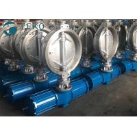 Carbon Steel Pneumatic Triple Eccentric Butterfly Valve Wafer Type Size Rating 2 To 60 Manufactures