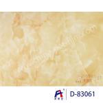 Blue Sky Wear Resistance PVC Decorative Film , Pvc Ceiling Film Simulation Of Marble Manufactures