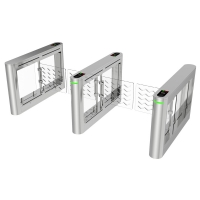 China Manufacturing Ip54 Low Noise SS304 Pedestrian Security Swing Turnstile Gates on sale